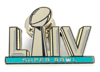 Super Bowl LIV (54) Logo Pin