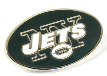 NY Jets Logo Pin