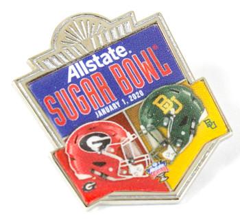 2020 Sugar Bowl Dueling Pin - Oklahoma vs. LSU