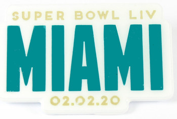 Super Bowl LIV (54) Miami Pin