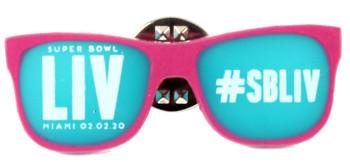 Super Bowl LIV (54) Sunglasses Pin