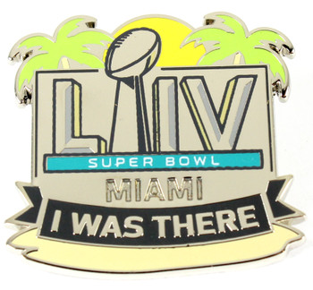 Super Bowl LIV (54) I Was There Pin
