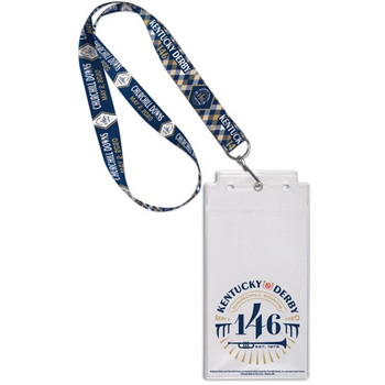 2020 Kentucky Derby 146th Lanyard w/ Ticket Holder