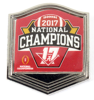 Alabama Crimson Tide 2017 College Football National Champs Pin