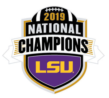 2020 LSU Tigers BCS National Champs Pin