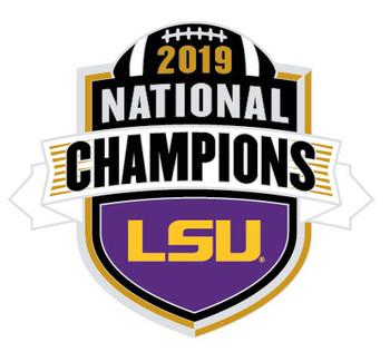 2020 LSU Tigers BCS National Champs Pin