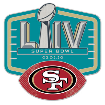 San Francisco 49ers Super Bowl LIV (54) Pin
