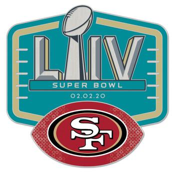 San Francisco 49ers Super Bowl LIV (54) Pin
