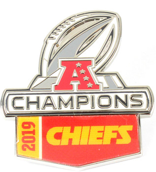 Kansas City Chiefs 2019 AFC Champs Pin