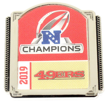 San Francisco 49ers 2019 NFC Champs Pin