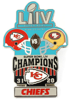 Super Bowl LIV (54) Oversized Commemorative Pin - One Piece