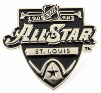 2020 NHL All-Star Game Monochrome Logo Pin