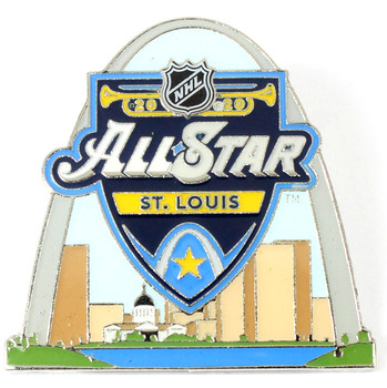 2020 NHL All-Star Game Logo Pin - St. Louis Arch
