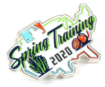2020 MLB Spring Training Pin