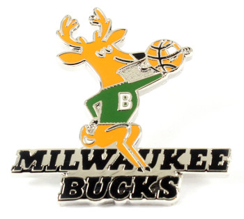 Milwaukee Bucks Vintage Logo Pin - 1968