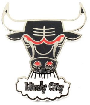 Chicago Bulls Vintage Logo Pin - 1973