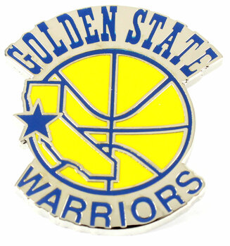 Golden State Warriors Vintage Logo Pin - 1988