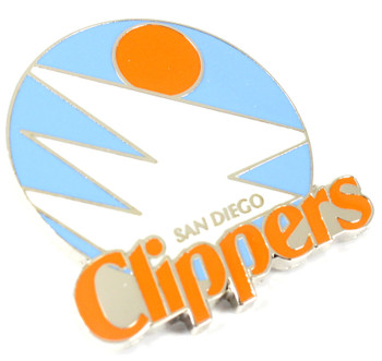 San Diego Clippers Vintage Logo Pin - 1979