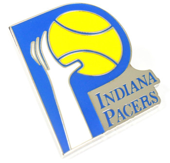 Indiana Pacers Vintage Logo Pin - 1976