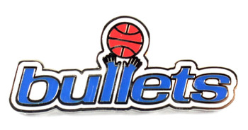 Washington Bullets Vintage Logo Pin - 1974