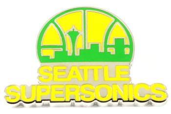 Seattle Supersonics Vintage Logo Pin - 1976