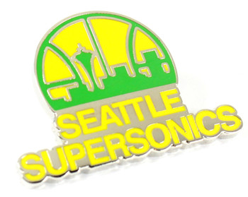 Seattle Supersonics Vintage Logo Pin - 1976