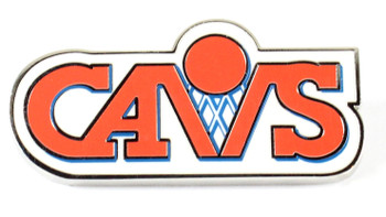 Cleveland Cavaliers Vintage Logo Pin - 1990