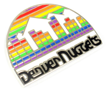 Denver Nuggets Vintage Logo Pin - 1982