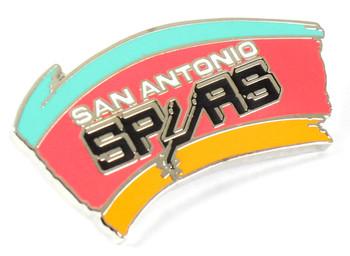 San Antonio Spurs Vintage Logo Pin - 1990