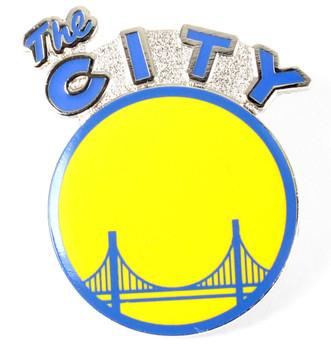 Golden State Warriors Vintage Logo Pin - 1976