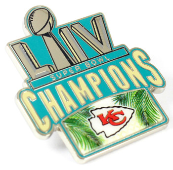 Kansas City Chiefs Super Bowl LIV (54) Champs Pin