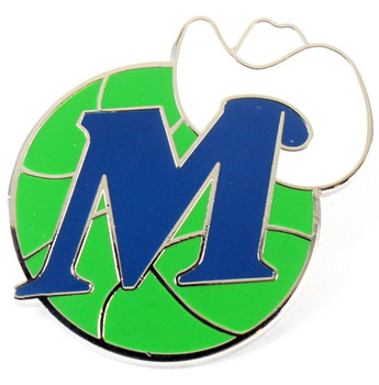 Dallas Mavericks Vintage Logo Pin