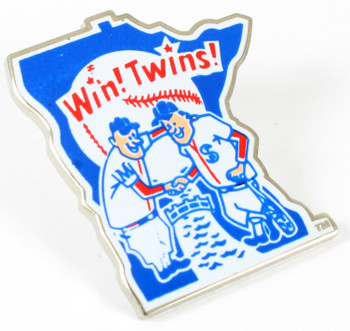 Minnesota Twins Vintage Logo Pin - 1976