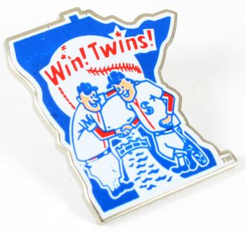 Minnesota Twins Vintage Logo Pin - 1976