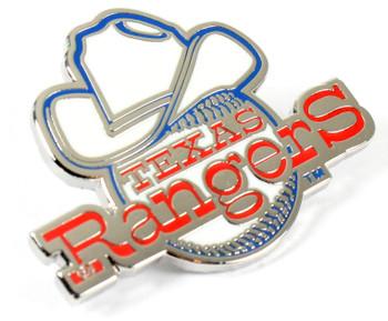 Texas Rangers Vintage Logo Pin - 1973