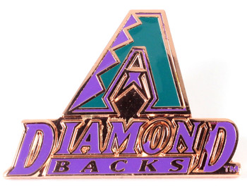 Arizona Diamondbacks Vintage Logo Pin - 1988