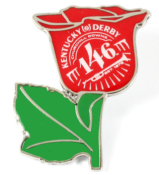 2020 Kentucky Derby 146 Rose Pin