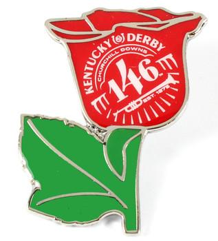 2020 Kentucky Derby 146 Rose Pin