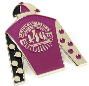 2020 Kentucky Derby 146 Jockey Silks Pin