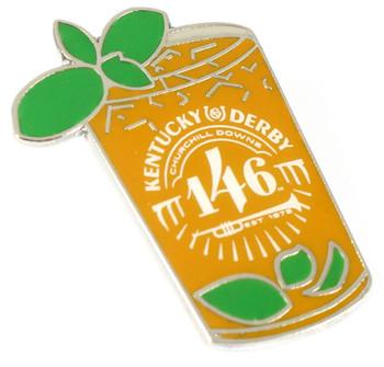 2020 Kentucky Derby 146 Mint Julep Pin