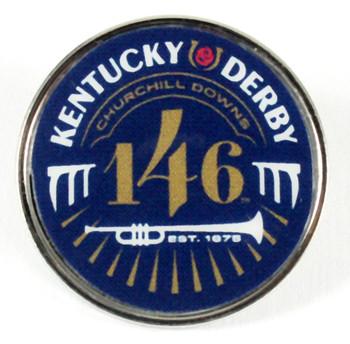 2020 Kentucky Derby 146 Logo Pin