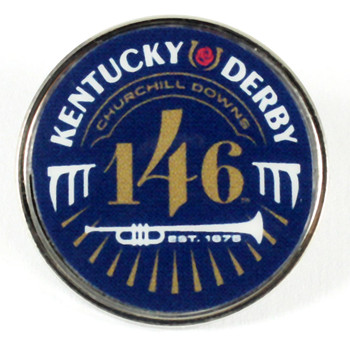 2020 Kentucky Derby 146 Logo Pin
