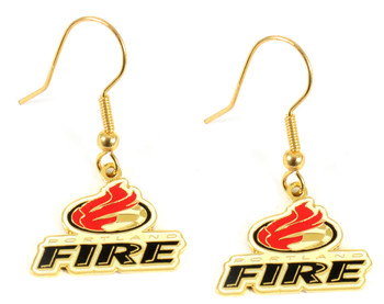 Portland Fire Earrings