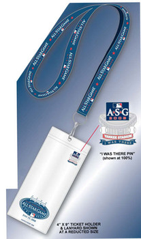"2008 MLB All Star Game Lanyard, Ticket Holder & ""I Was There"" Pin - #2"