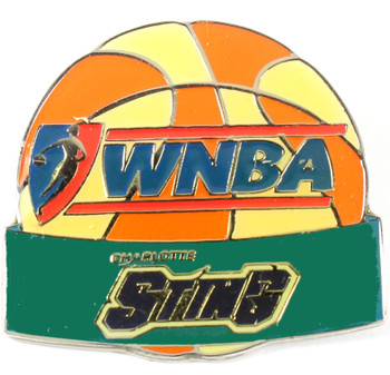 Charlotte Sting WNBA Ball Pin