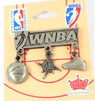 Detroit Shock Charm Pin