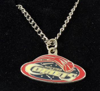 Houston Comets Necklace