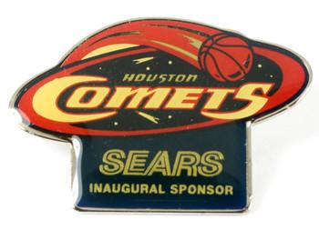 Houston Comets Sears Inaugural Sponsor Pin