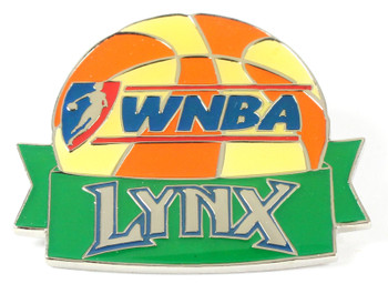 Minnesota Lynx WNBA Ball Pin