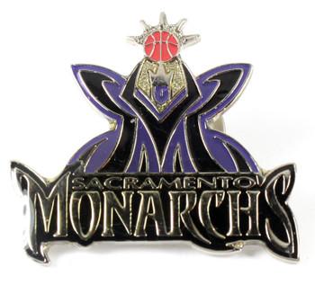 Sacramento Monarchs Logo Pin